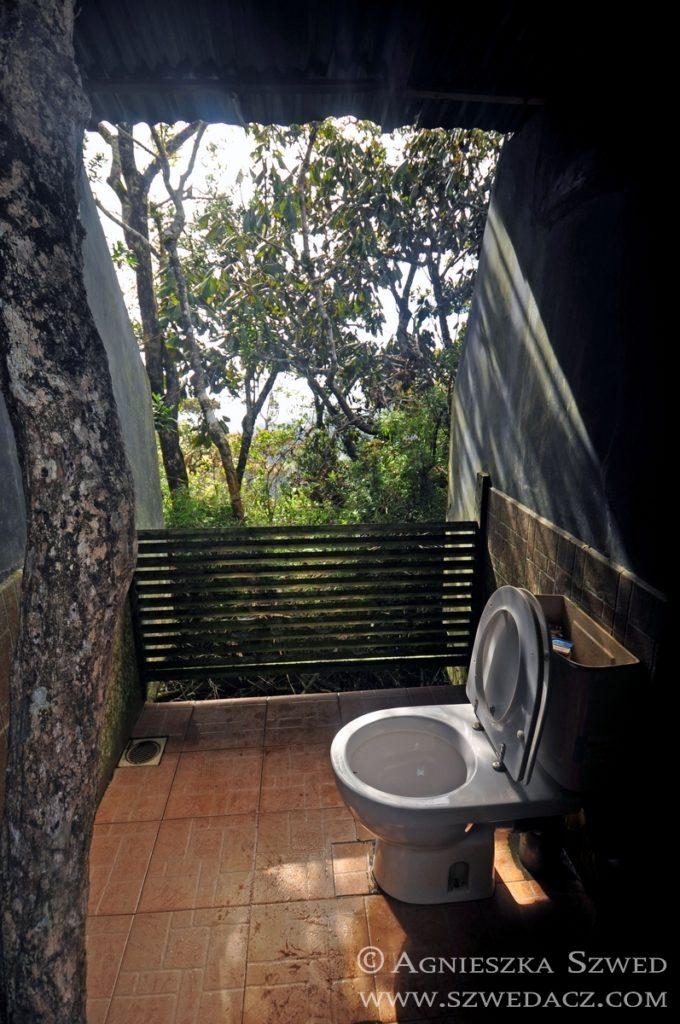 Sri Lanka: Równiny Hortona, toaleta z widokiem