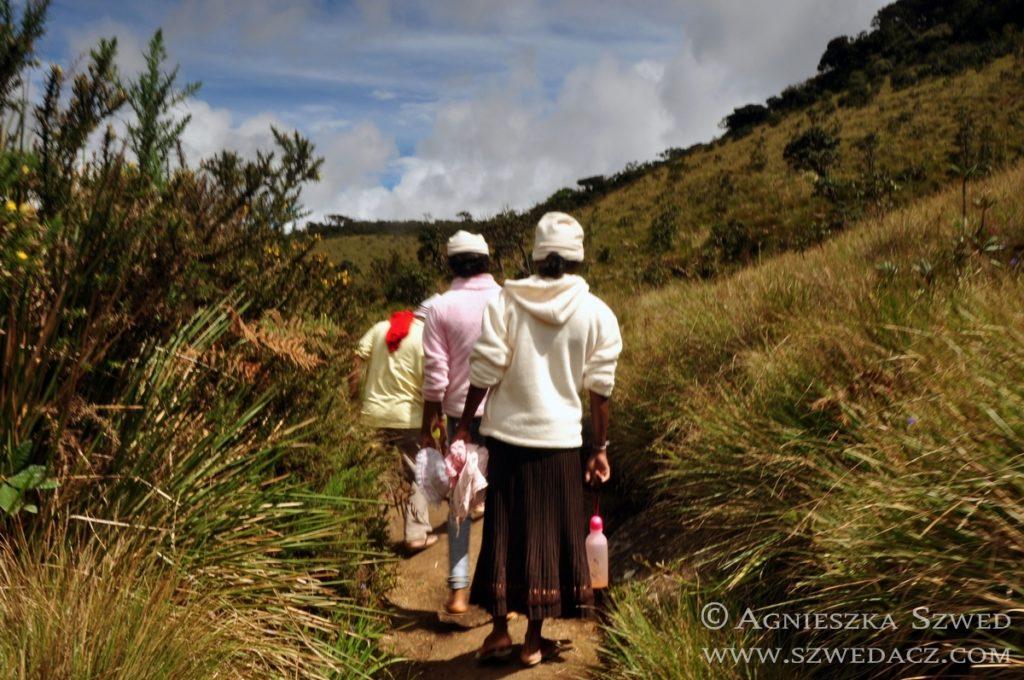 Sri Lanka: Równiny Hortona, Lankijczycy w wełnianych czapkach