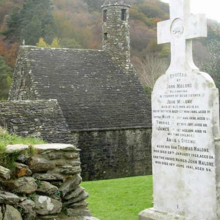 cmentarz w glendaloug