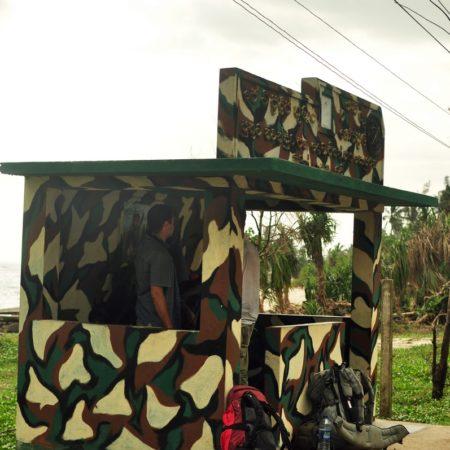 przystanek autobusowy na Sri Lance