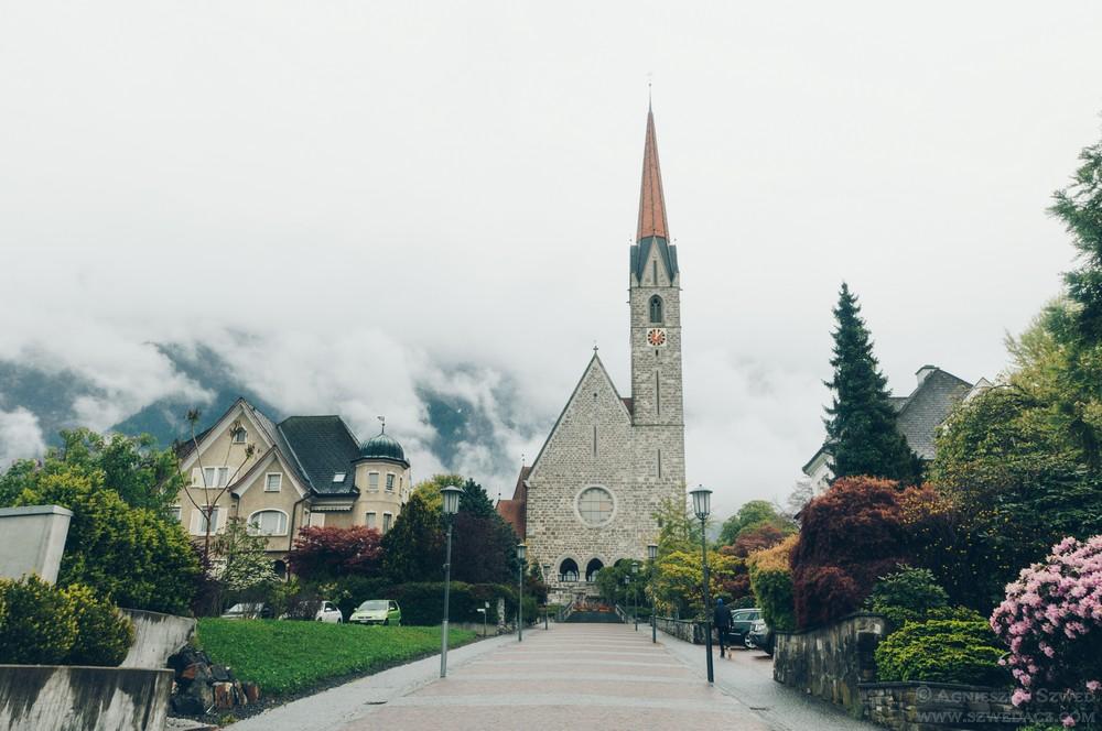 W Vaduz, stolicy Liechtensteinu