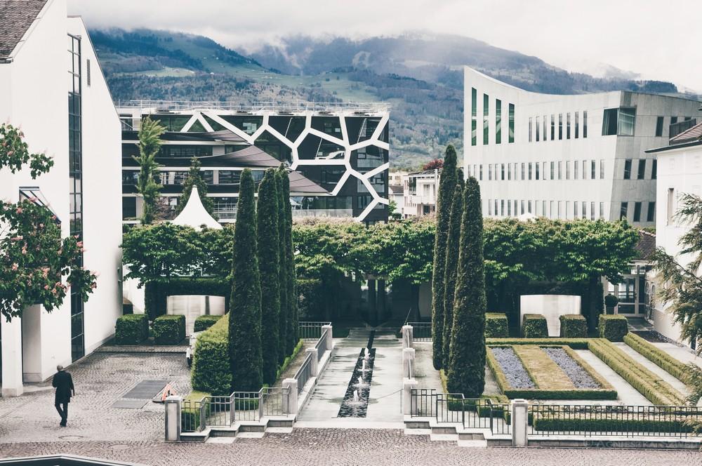 Liechtenstein – księstwo jak z bajki? Vaduz i okolice.