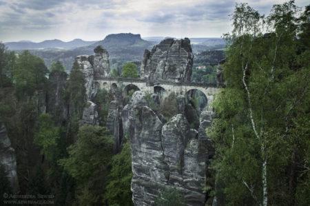 Bastei – z widokiem na Saksońską Szwajcarię