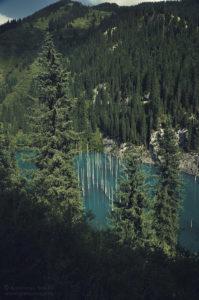 Jezioro Kaindy, Kazachstan
