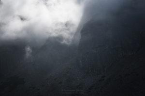 Tatry: Czarny staw Gąsienicowy
