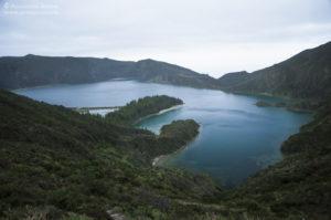Azory, São Miguel - nad jeziorem Fogo