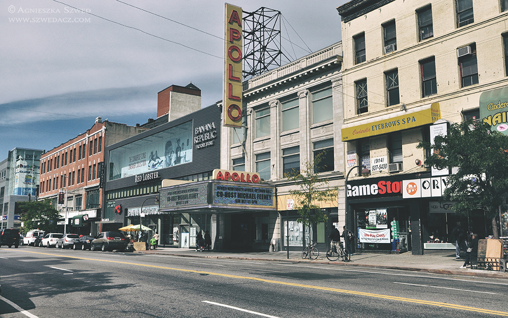 Harlem, Nowy Jork - Teatr Apollo