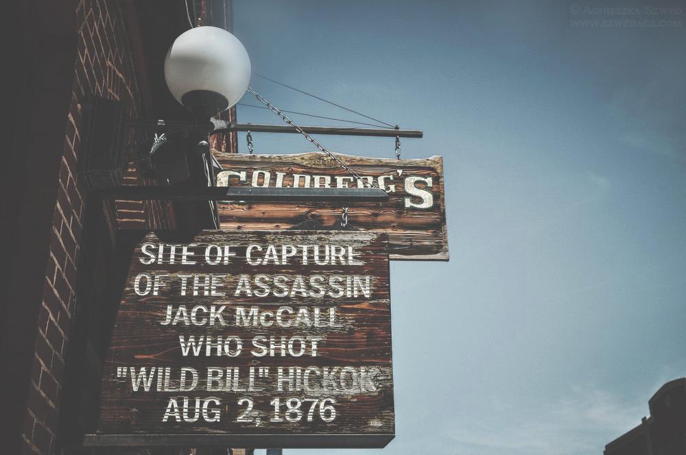 Deadwood - miejsce złapania Jacka McCalla - zabójcy Dzikiego Billa