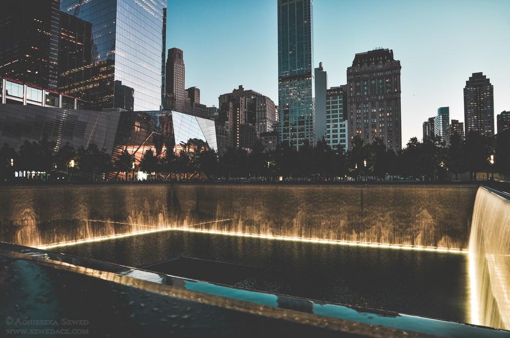 Pomnik 9/11 wNowym Jorku