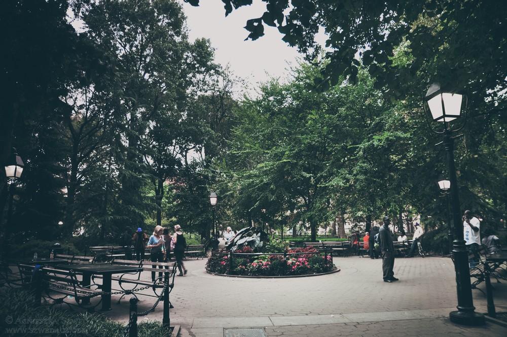 Nowy Jork - Washington Sqare