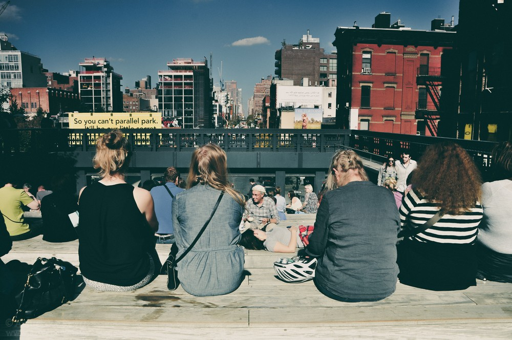 High Line Park wNowym Jorku