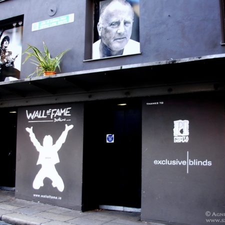 Dublin, Irlandia, wall of fame