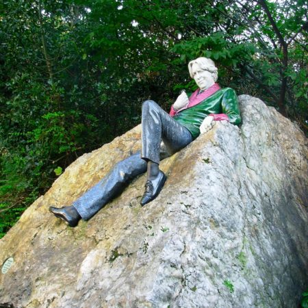 Dublin - pomnik Oscara Wilde