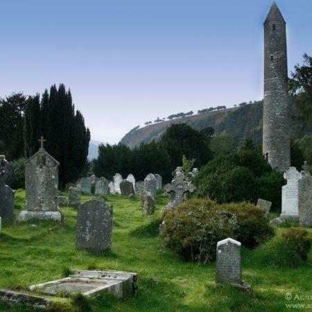 Cmentarz Swiętego Kevina w Glendalough