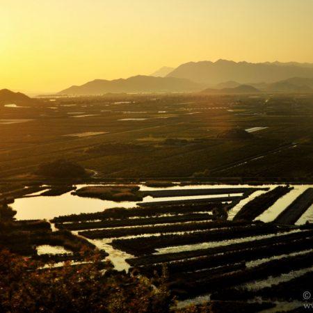 Czarnogóra, zachód słońca