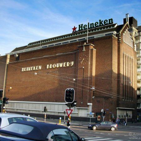 Amsterdam. Heineken Muzeum