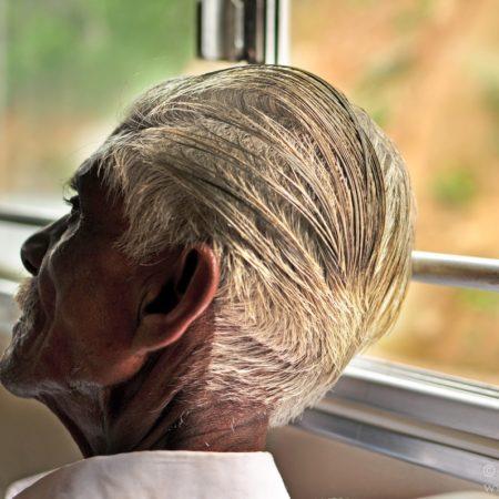 mieszkańcy Sri Lanki, siwizna