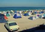 namioty w Vama Veche