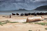 W Baia das Gatas, Cabo Verde.