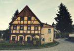 Dom w Saksońskiej Szwajcarii.