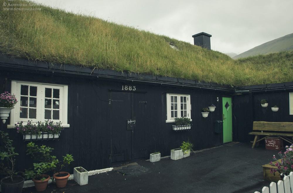 Domy z trawą, Wyspy Owcze