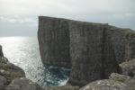 Wyspy Owcze - Trælanípan, Ściana Niewolników
