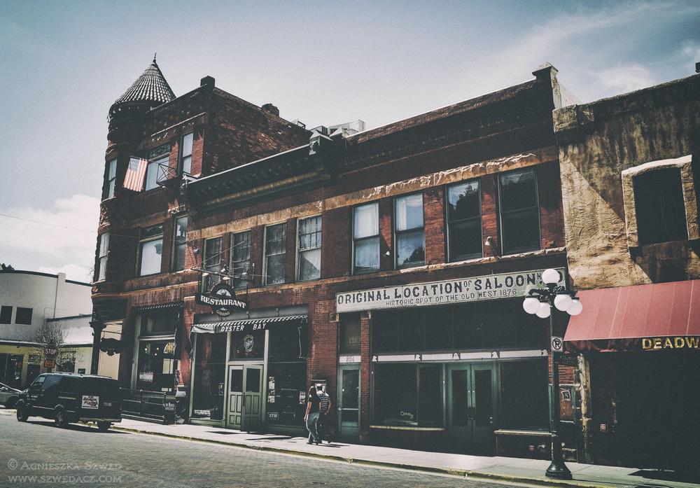 Deadwood - miejsce, gdzie niegdyś znajdował się Nuttal & Mann Saloon No.10