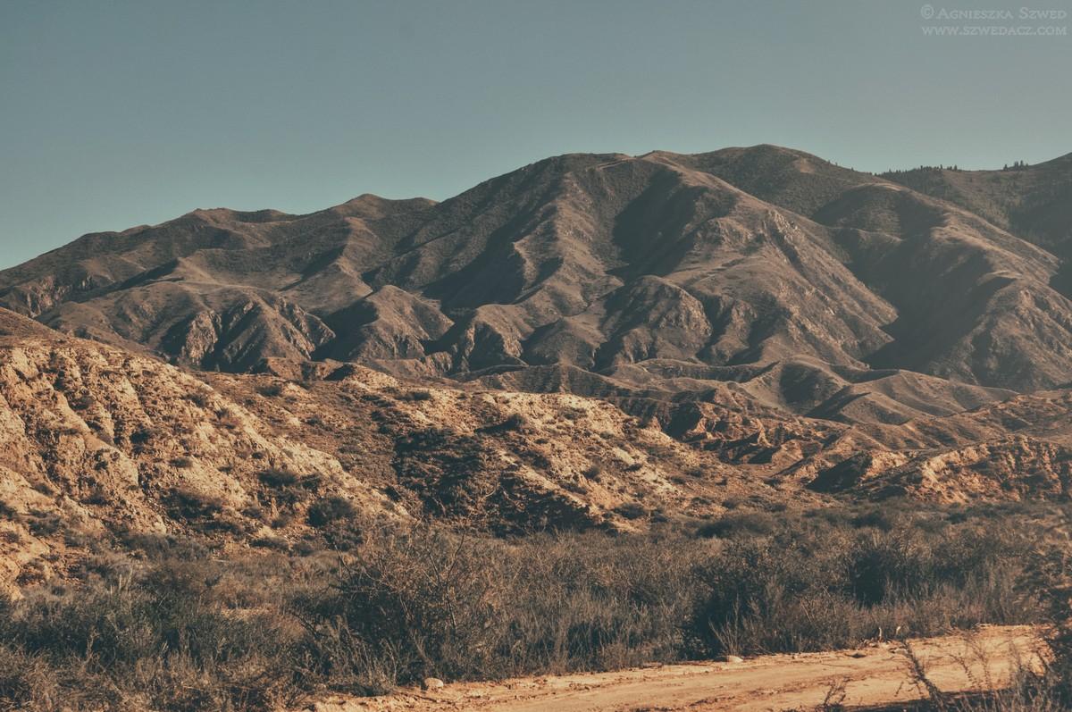 Kanion Skazka w Kirgistanie