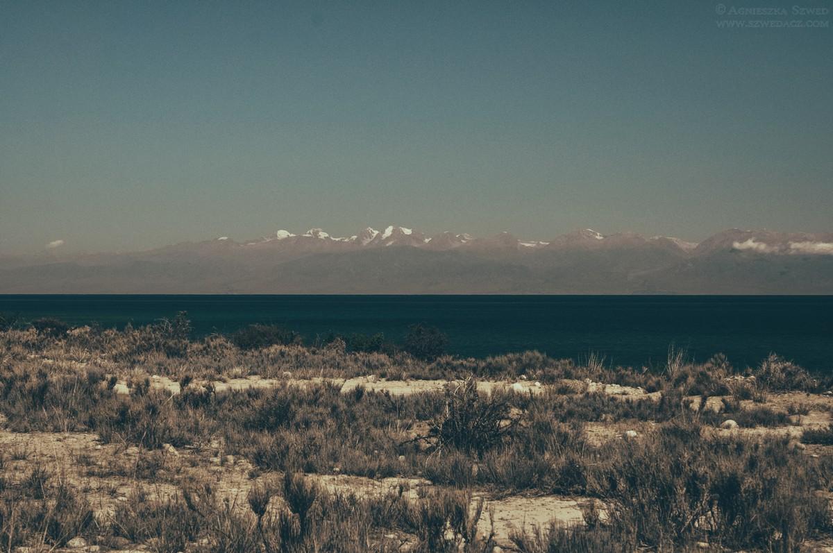 Nad jeziorem Issyk-kul