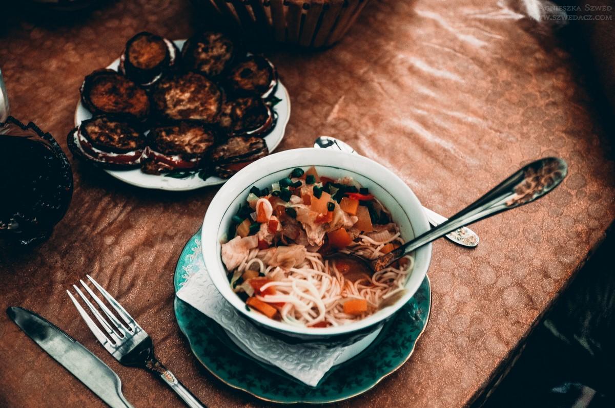 Kirgiska kolacja