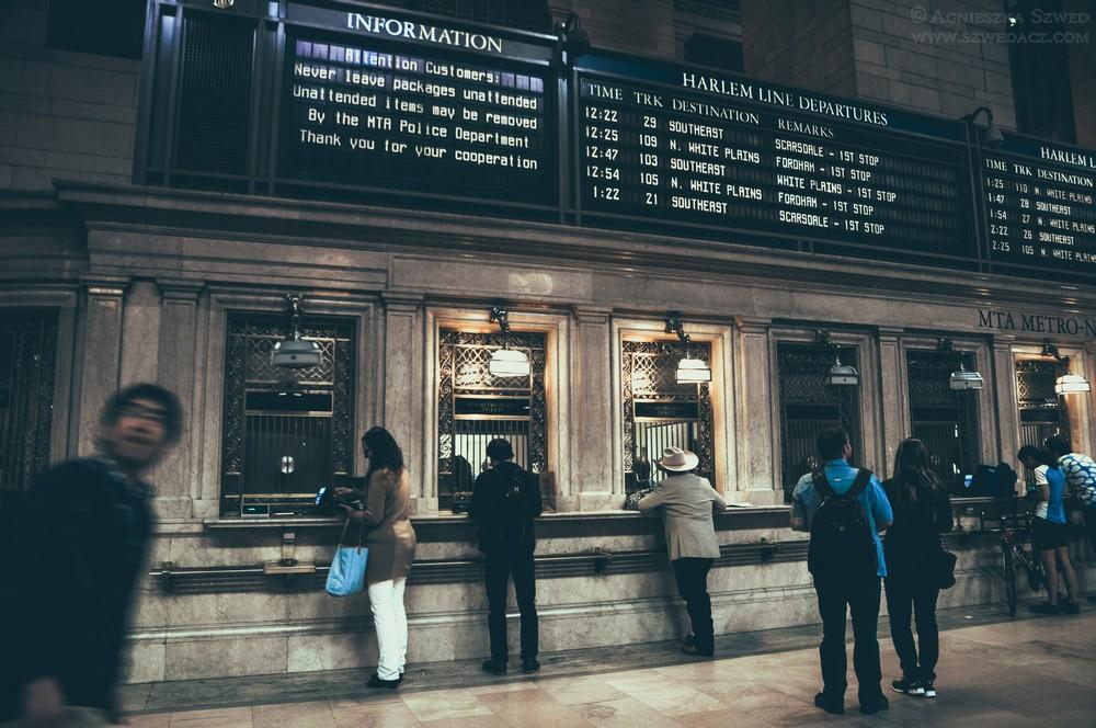 Dworzec Grand Central w Nowym Jorku