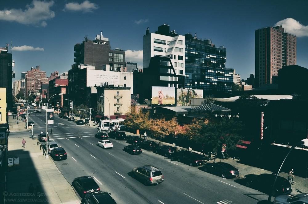 High Line Park w Nowym Jorku