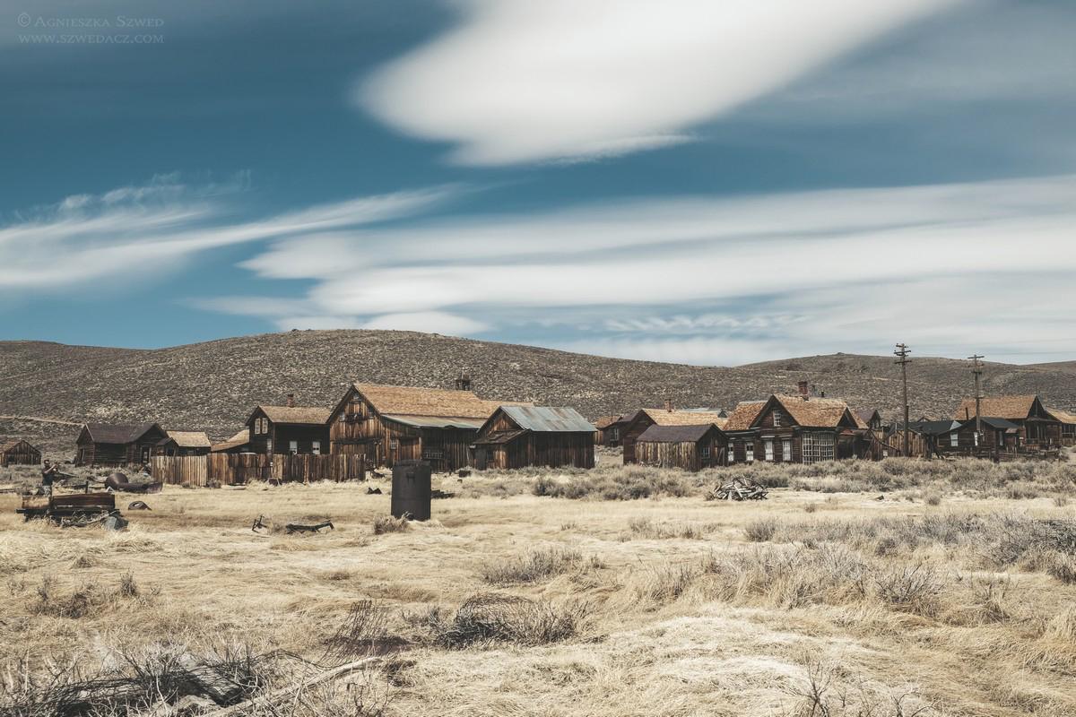 Bodie, opuszczone miasto w Kalifornii