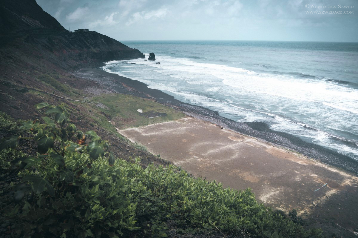 Wyspy Zielonego Przylądka - boisko na Santo Antão