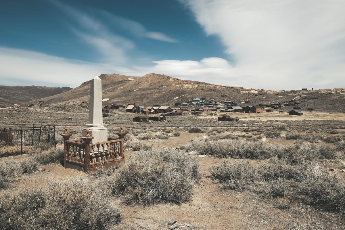 Cmentarz w Bodie