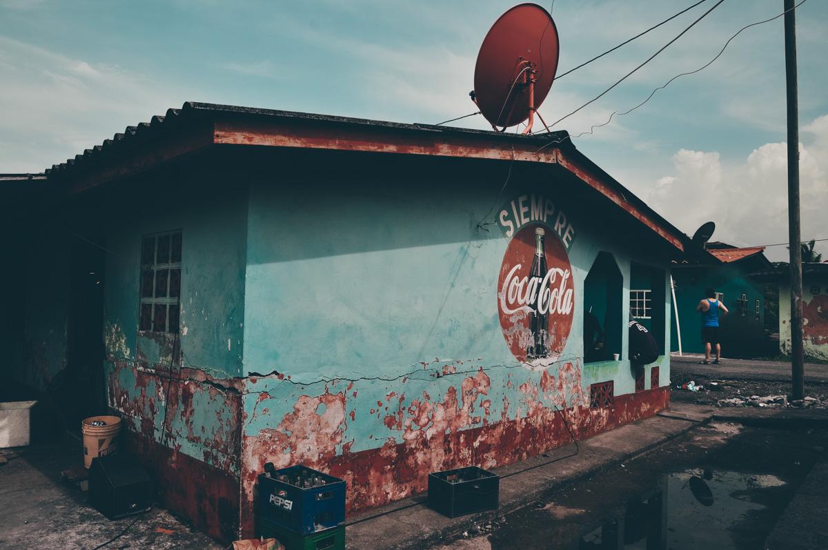 Panama, okolice Portobelo