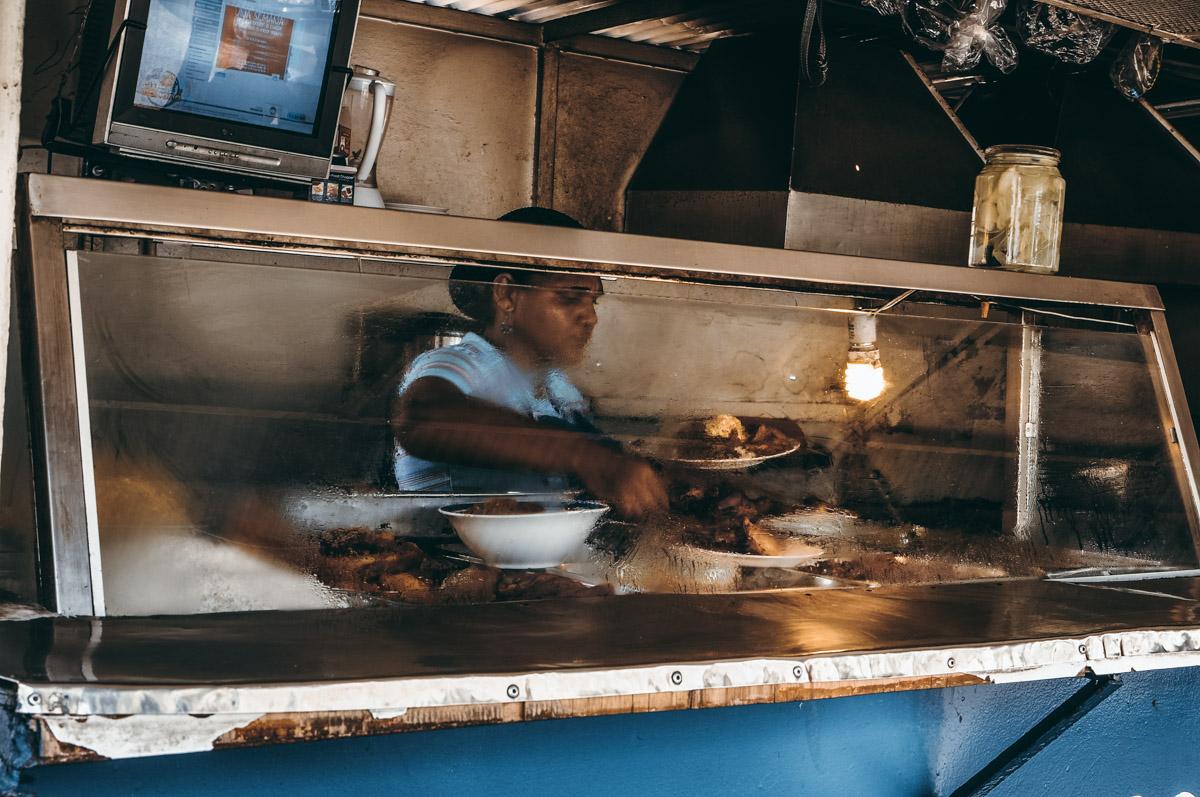 Panamski street food