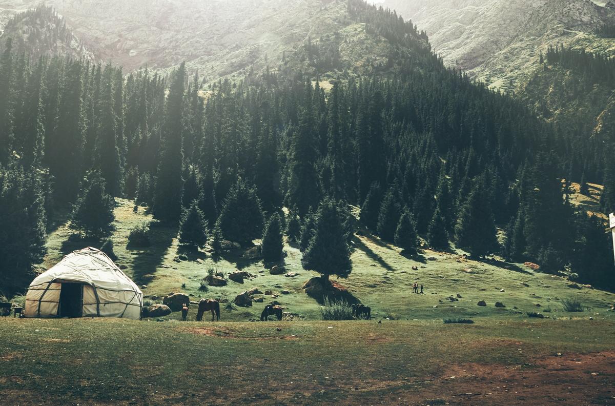 Jutry w Kirgistanie