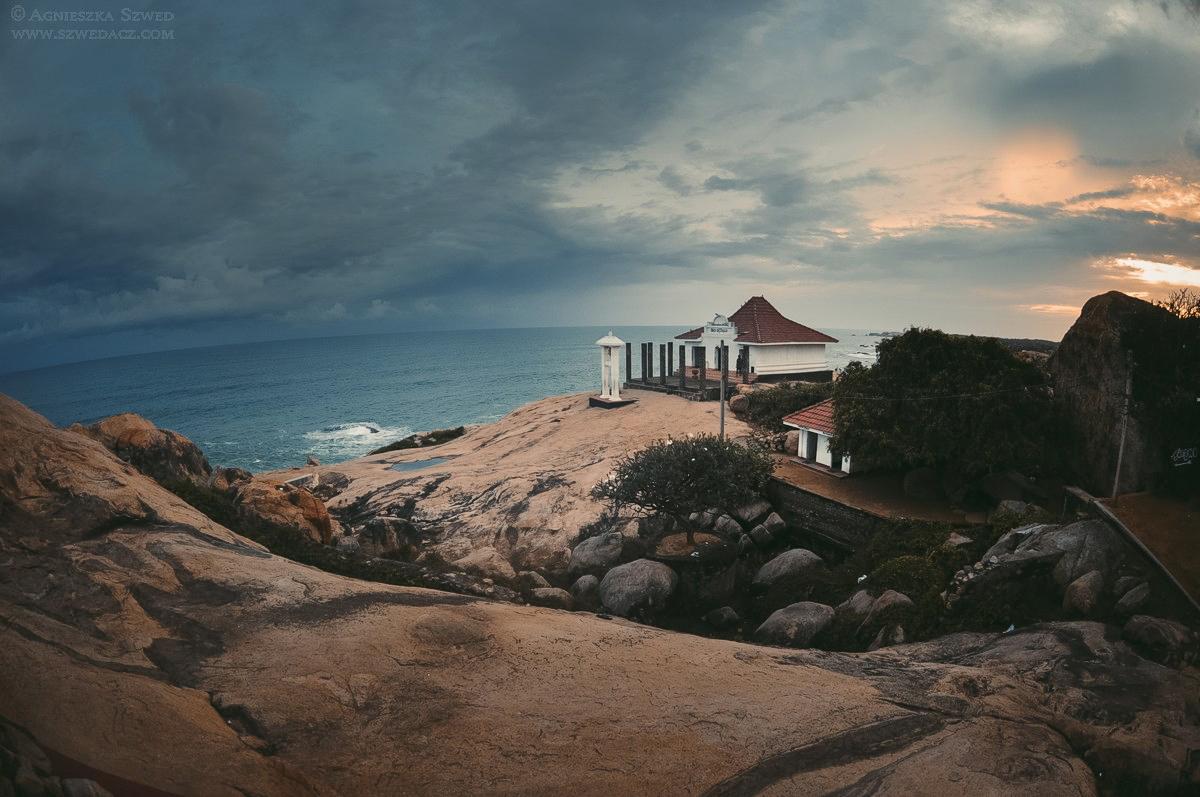 Kirinda, Sri Lanka - świątynia