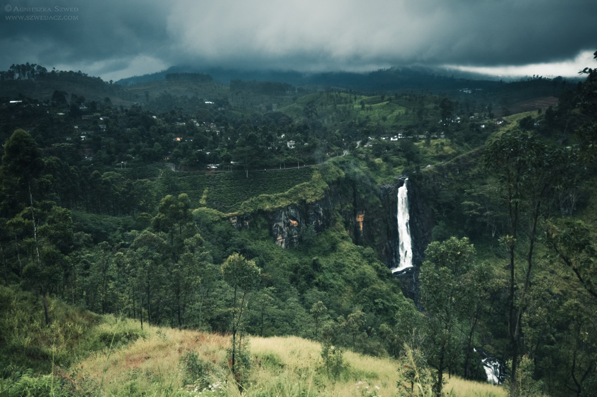 Pociąg Hatton - Ella, Hill Country, Sri Lanka