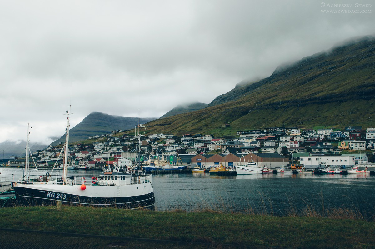 Okolice portu w Klaksvík