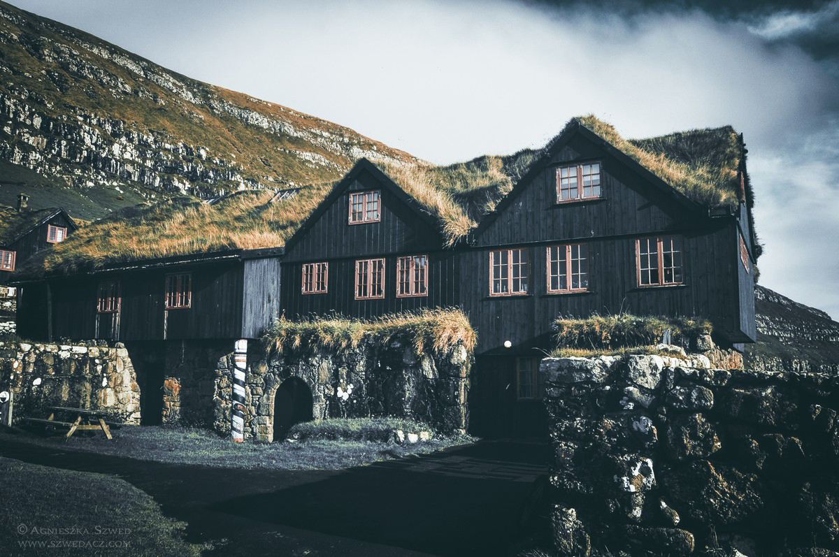 Kirkjubøur - najstarszy zamieszkały drewniany dom