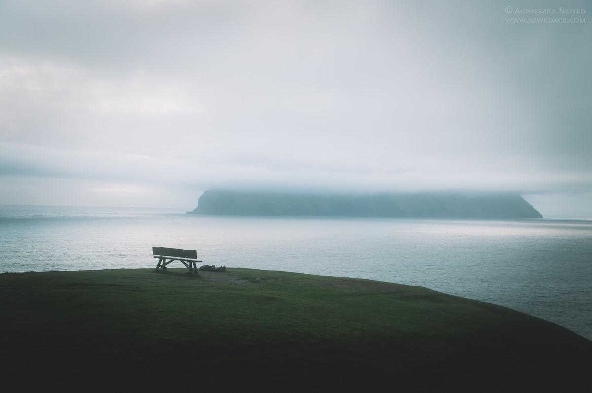 Okolice Gásadalur - wyspa Vagar
