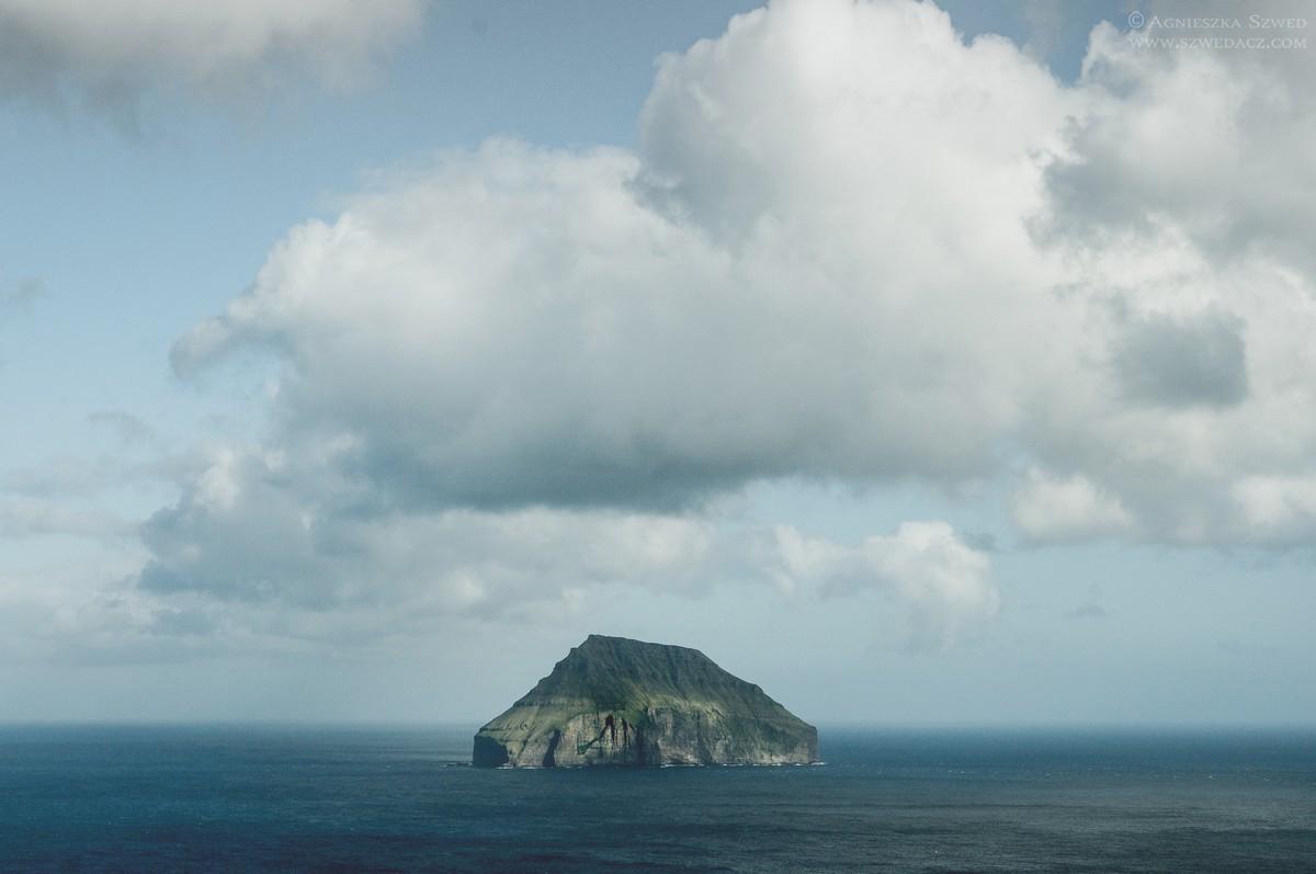 Widok na wyspę Lítla Dímun