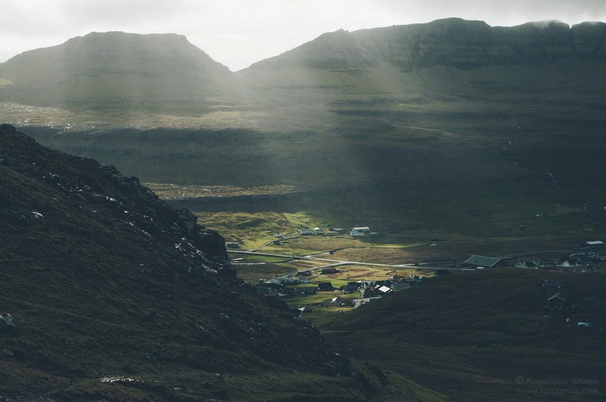 Pięknie położone wioski na Wyspach Owczych
