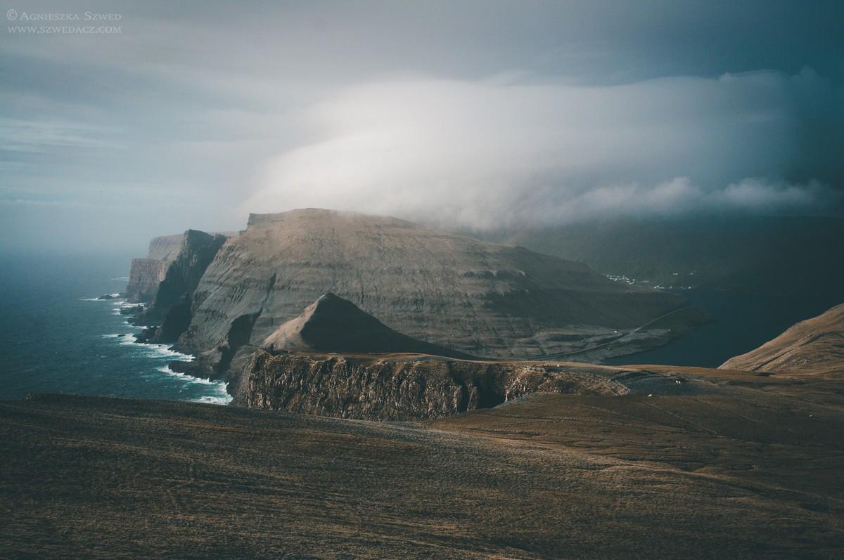 Wyspy Owcze - klify Beinisvørð na wyspie Suðuroy