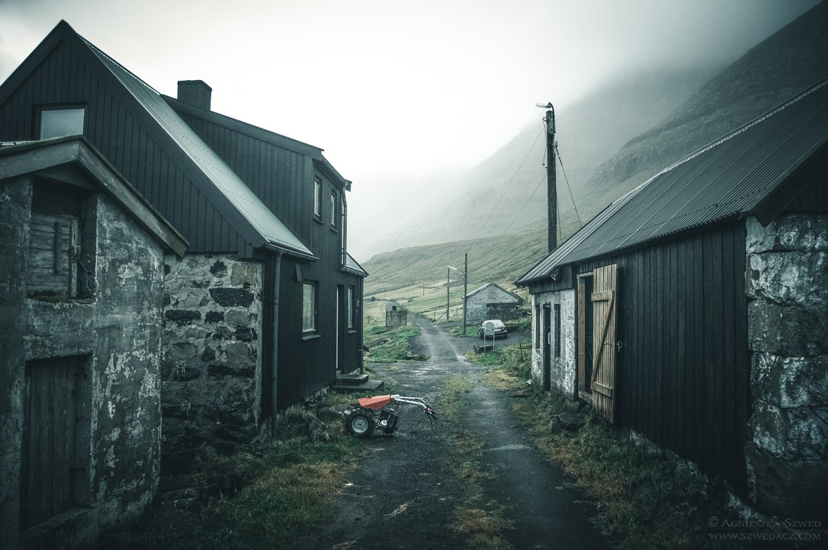 Múli - opuszczona wioska na Wyspach Owczych