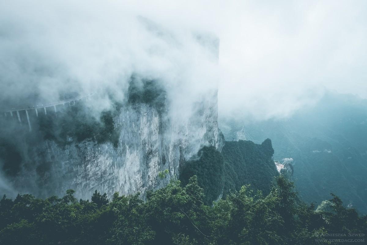 Góra Tianmen – Brama do Nieba i spacer nad przepaścią