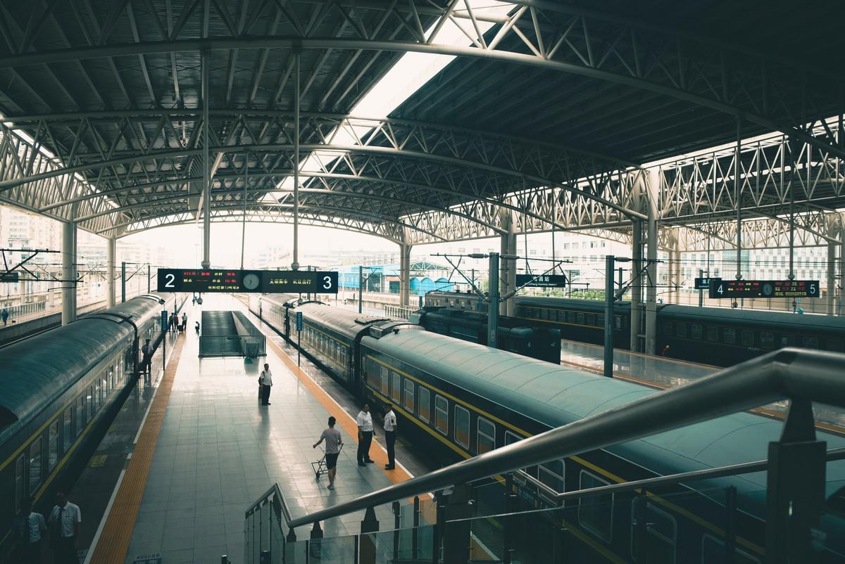 Na dworcu kolejowym