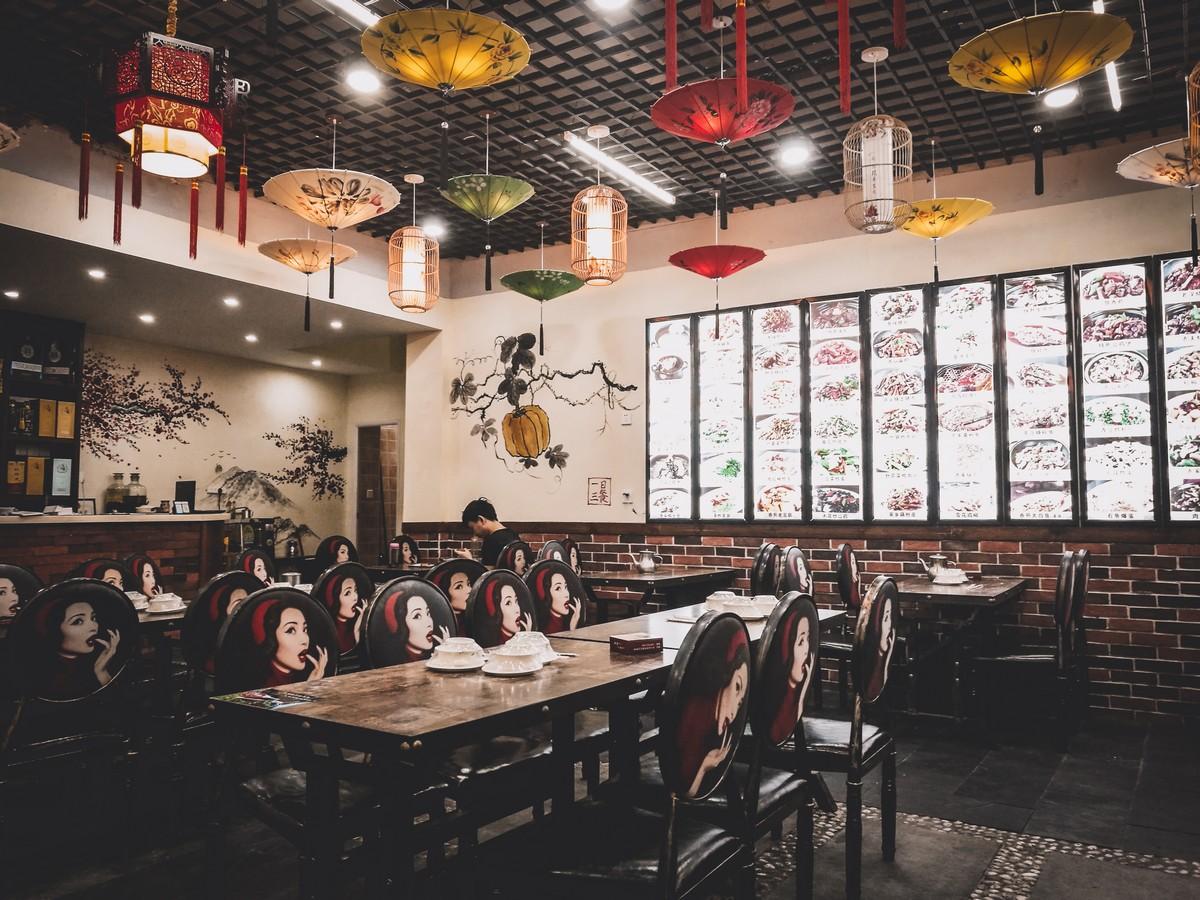 Restauracja w Guling